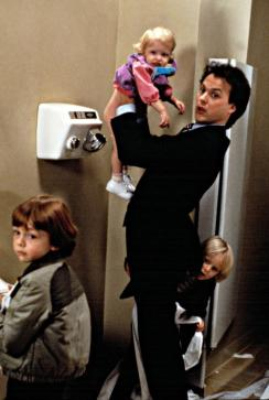 MR. MOM, Frederick Koehler, Courtney/Brittany White, Michael Keaton, Taliesin Jaffe, 1983. (c) MGM.